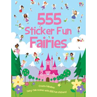 555 Sticker Fun Fairies (BOK)