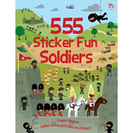 555 Sticker Fun Soldiers (BOK)
