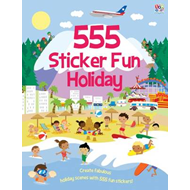 555 Sticker Fun Holiday (BOK)