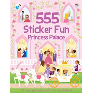 555 Sticker Fun Princess Palace (BOK)