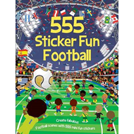 555 Sticker Fun Football (BOK)