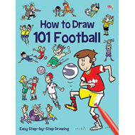 How to Draw 101 Football (BOK)