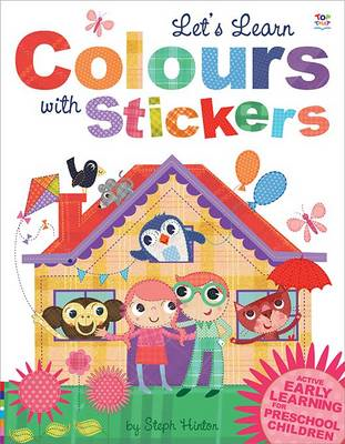 Let's Learn Colours with Stickers (BOK)