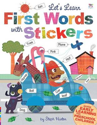 Let's Learn First Words with Stickers (BOK)
