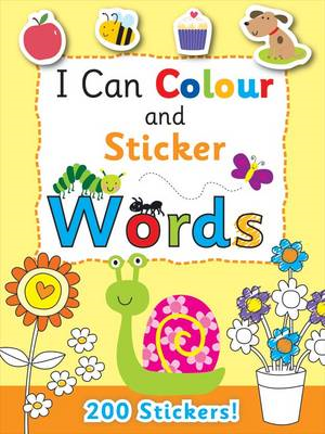 I Can Colour - My First Words (BOK)