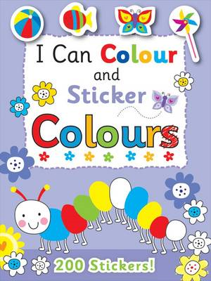 I Can Colour - My First Colours (BOK)
