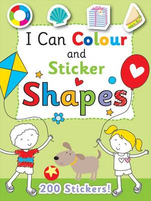 I Can Colour - My First Shapes (BOK)