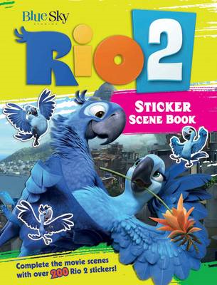 Rio 2 sticker scene book (BOK)