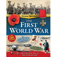 First World War Sticker History Book (BOK)