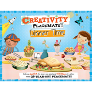 Creativity Placemats Dinner Time (BOK)