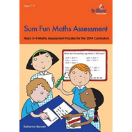 Sum Fun Maths Assessment for 7-9 year olds (BOK)