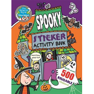 Wonderful World of Simon Abbott: Spooky Sticker Activity Boo (BOK)