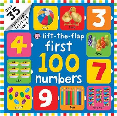 Lift-the-Flap First 100 Numbers (BOK)