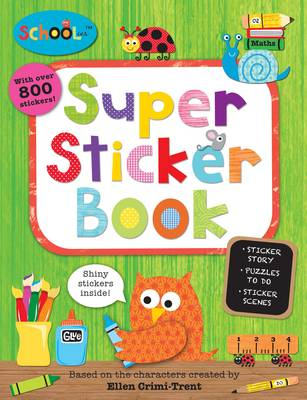 Schoolies Super Sticker Book (BOK)
