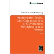 Mechanisms, Roles and Consequences of Governance (BOK)