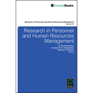 Research in Personnel and Human Resources Management (BOK)