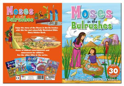 Bible Sticker Book - Moses in the Bullrushes (BOK)