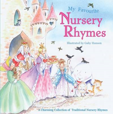 Square Paperback Book - Favourite Nursery Rhymes (BOK)