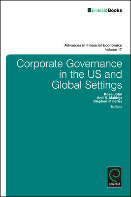 Corporate Governance in the US and Global Settings (BOK)