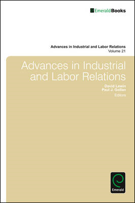Advances in Industrial & Labor Relations (BOK)