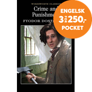 Produktbilde for Crime and Punishment - With selected excerpts from the Notebooks for Crime and Punishment (BOK)