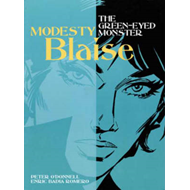 Modesty Blaise: Green-eyed Monster (BOK)