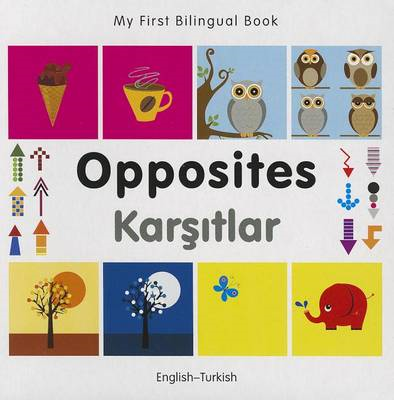 My First Bilingual Book - Opposites: English-Turkish (BOK)