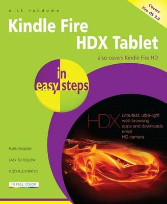Kindle Fire HDX in easy steps (BOK)