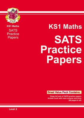 KS1 Maths SATs Practice Papers - Level 2 (BOK)