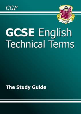 GCSE English Technical Terms Study Guide (BOK)