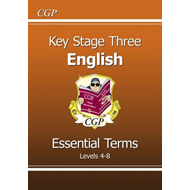 KS3 English Essential Terms - Levels 4-8 (BOK)