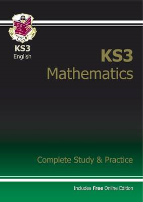 New KS3 Maths Complete Study & Practice (with Online Edition (BOK)