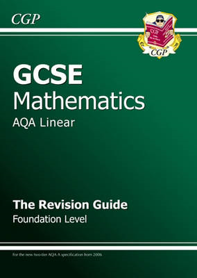 GCSE Maths AQA Revision Guide with Online Edition - Foundati (BOK)