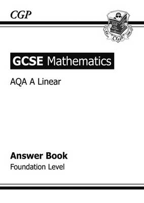 GCSE Maths AQA Answers for Workbook with Online Edition - Fo (BOK)