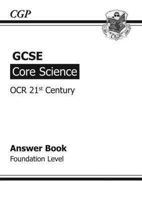 GCSE Core Science OCR 21st Century Answers (for Workbook) - (BOK)