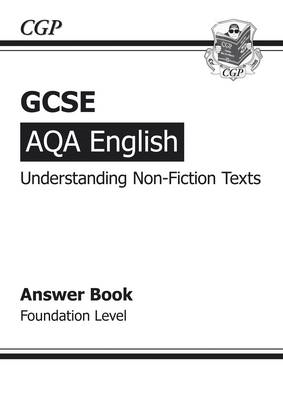 GCSE AQA Understanding Non-Fiction Texts Answers (for Workbook) - Foundation (BOK)