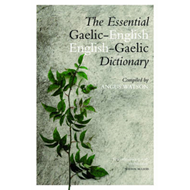 Essential English-Gaelic/Gaelic-English Dictionary (BOK)
