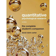 Quantitative Psychological Research: The Complete Student's Companion (BOK)