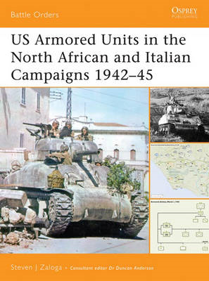 Us Armored Units in the North African and Italian Campaigns 1942-1943 (BOK)