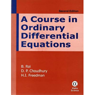 A Course in Ordinary Differential Equations (BOK)