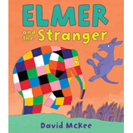 Produktbilde for Elmer and the Stranger (BOK)