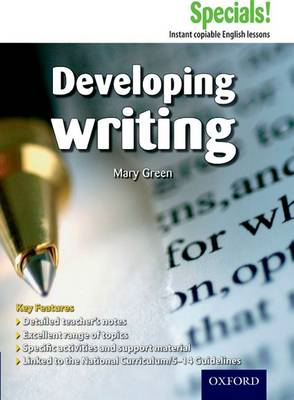 Secondary Specials!: English - Developing Writing (11-14) (BOK)