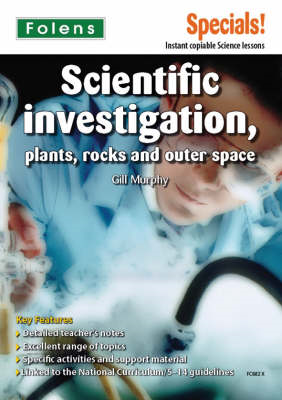 Secondary Specials!: Science- Scientific Investigation, Plan (BOK)