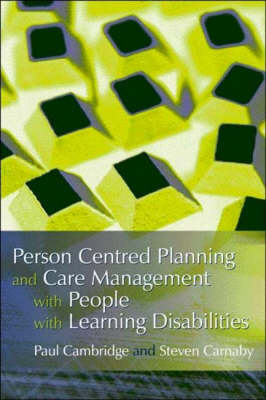 Person Centered Planning and Care Management with People with Learning Disabilities (BOK)