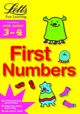 First Numbers Age 3-4 (BOK)