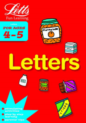 Letters Age 4-5 (BOK)