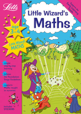 Little Wizard's Maths Age 3-4 (BOK)