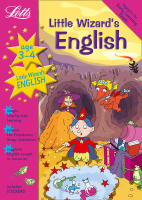 Little Wizard's English Age 3-4 (BOK)