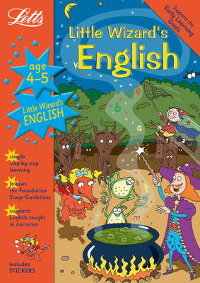 Little Wizard's English Age 4-5 (BOK)