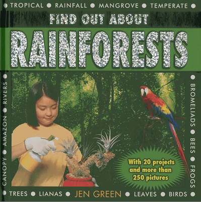Find Out About Rainforests: With 20 Projects and More Than 250 Pictures (BOK)